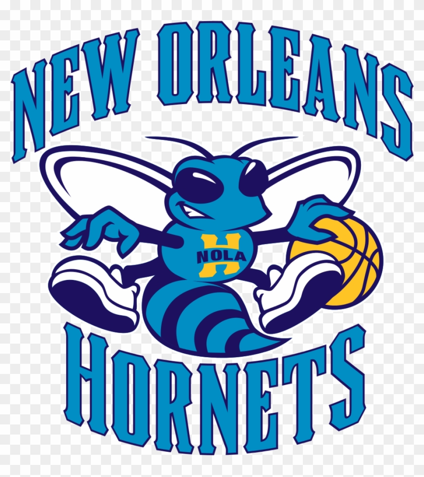New Orleans Hornets Logo - New Orleans Hornets Logo Png Clipart #902260