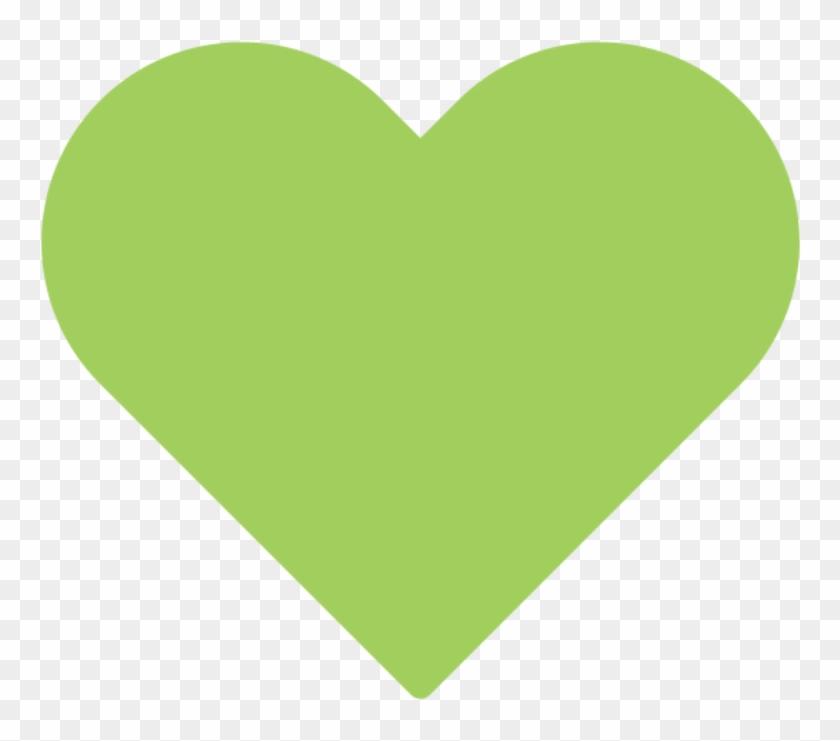 Emoji Domain , Png Download - Light Green Heart Png Clipart #902401