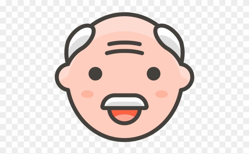 Old Man Emoji - Emoji Orang Tua Clipart #902471