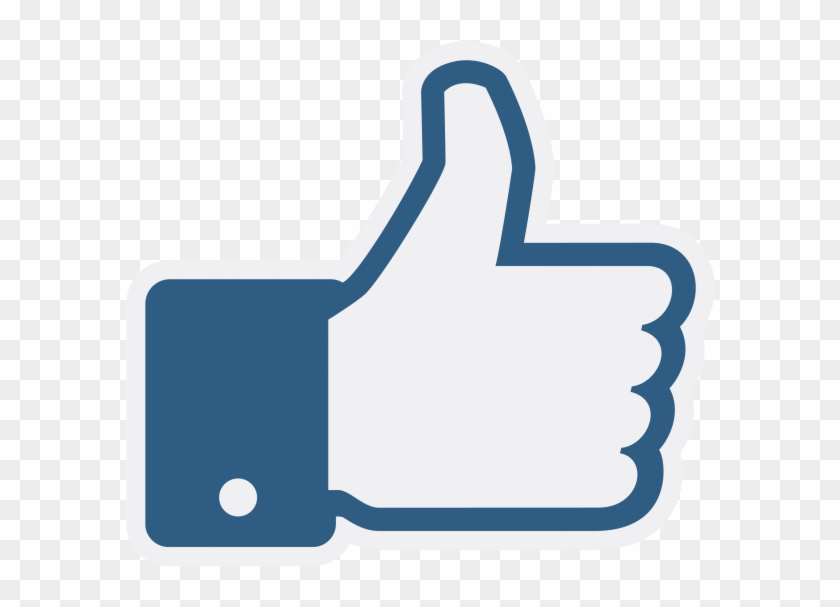 Facebook Like Png Transparent Icon - Facebook Like Clipart #903470