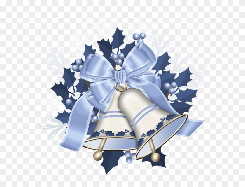 Silver Wedding Bells Png Stroiki Swiateczne Boze Narodzenie Clipart 904358 Pikpng