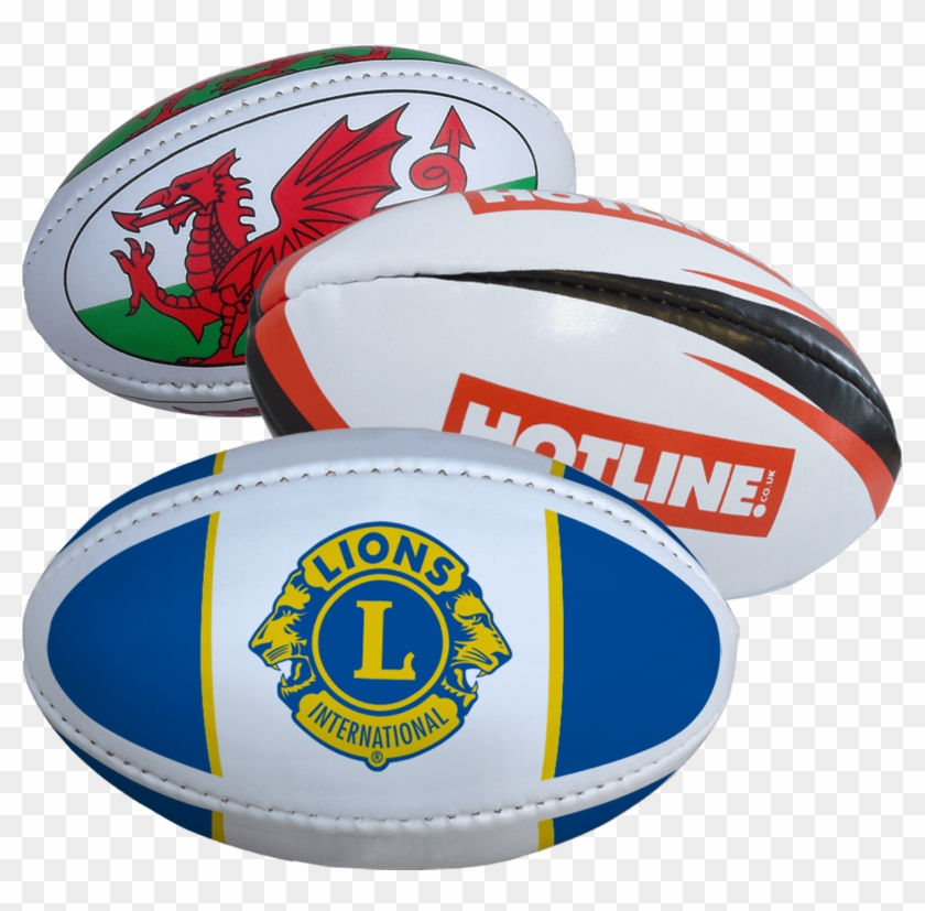 Mini Promotional Rugby Ball - Lions Club International Clipart #918068