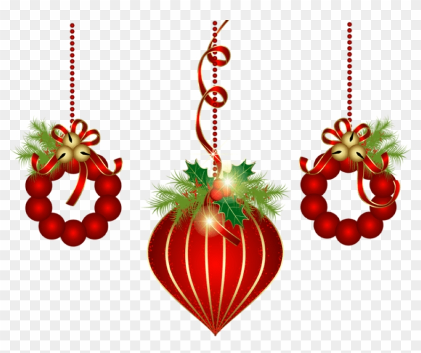 Red Christmas Png Free Transparent Background Transparent Background Christmas Clipart Png 918130 Pikpng