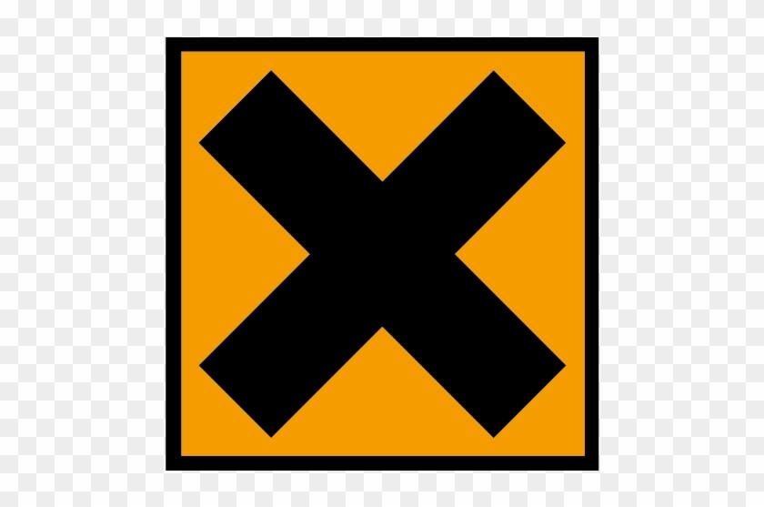 Irritant Sign - Examples Of Irritant Substances Clipart #920666
