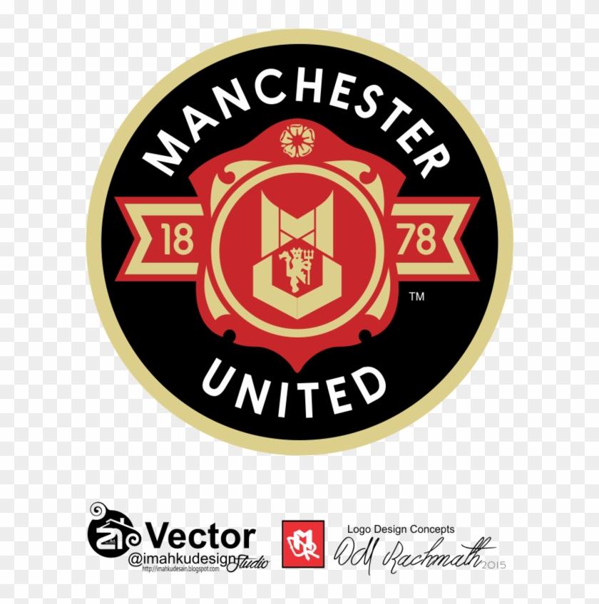 Manchester United Logo Concept Dmr By Imahkudesain Man United V Arsenal Clipart 924158 Pikpng