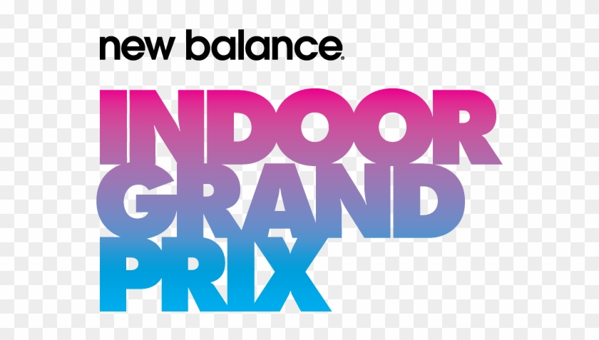 New Balance Indoor Grand Prix 2019 Logo Clipart #926954