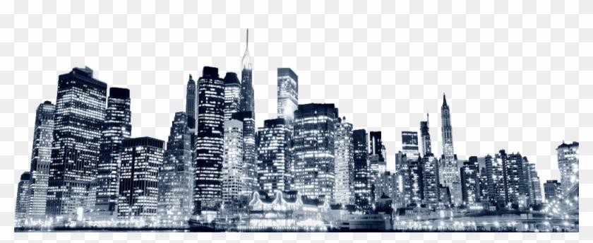 New York Skyline Png - New York City Psd Clipart #929221