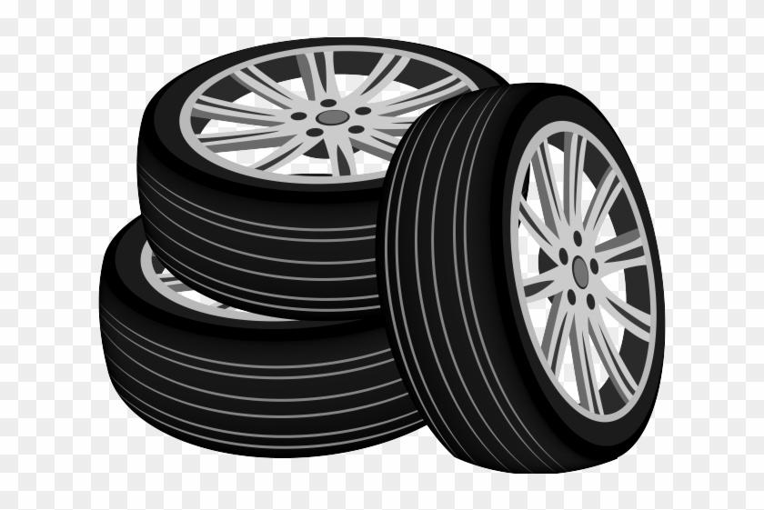 Tires Clipart Tire Burnout - Clip Art Tires - Png Download #931318