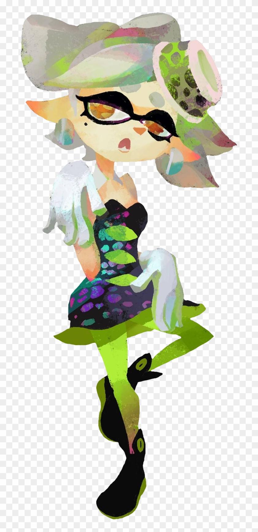 Marie Splatoon Gaming Splatoon 1 Squid Sisters Clipart