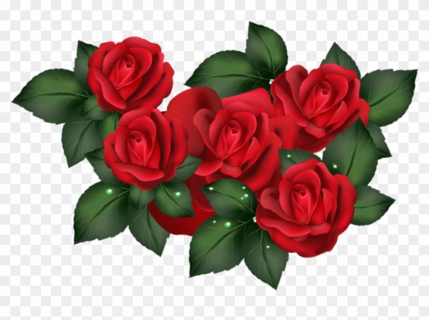 Free Png Download Transparent Red Roses Png Images - Transparent Clip Art Rose #943250