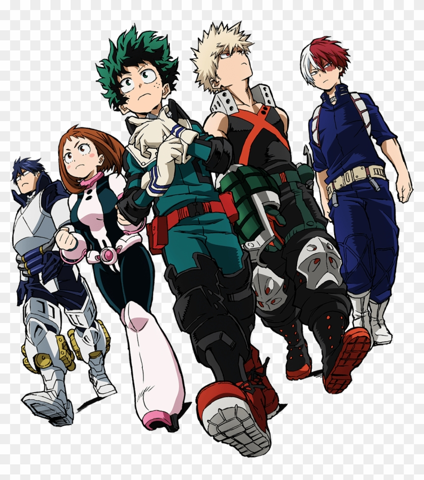 Students Png My Hero Academia Two Heroes Transparent Png