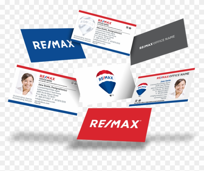 Remax Business Cards - Flyer Clipart #946746