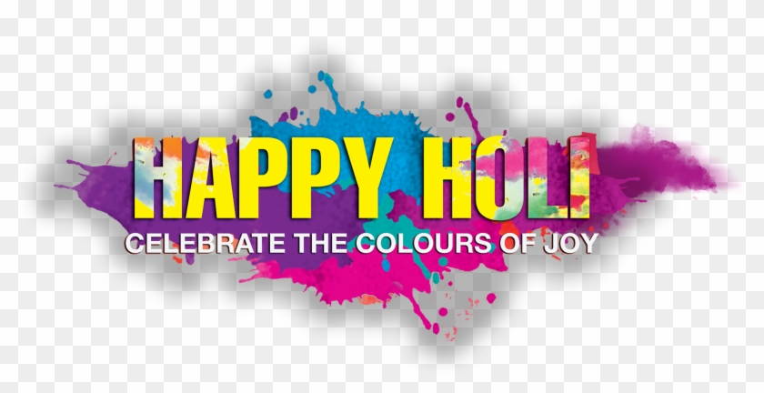 Samples Of Happy Holi Text Png - Graphic Design Clipart #949106
