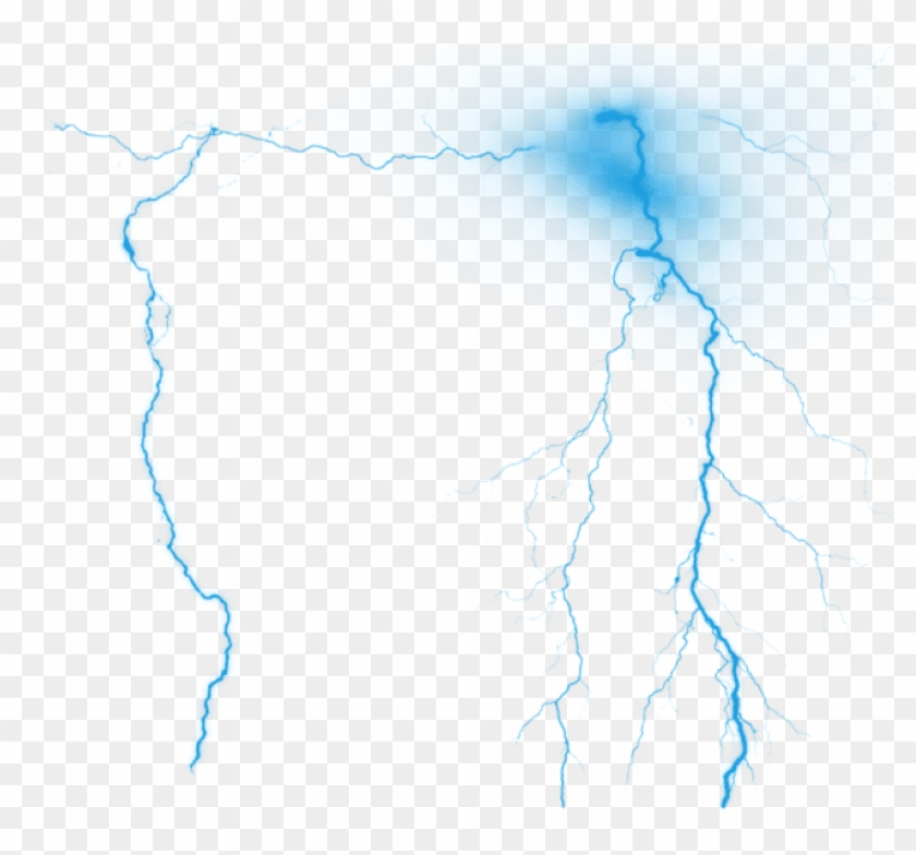 Free Png Download Lightning Effect Png Png Images Background - Thunder Png For Photoshop Clipart@pikpng.com