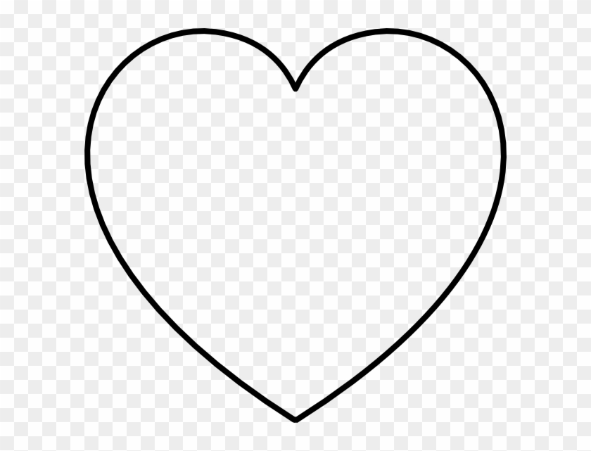 Clip Arts Related To - Large Heart Template - Png Download #952732
