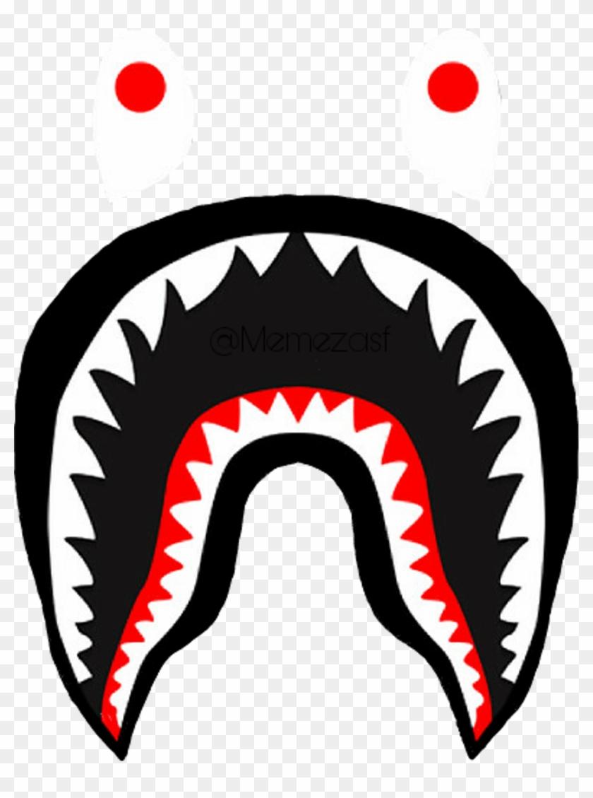 Bape Sticker Bape Shark Wallpaper Hd Clipart 954563 Pikpng