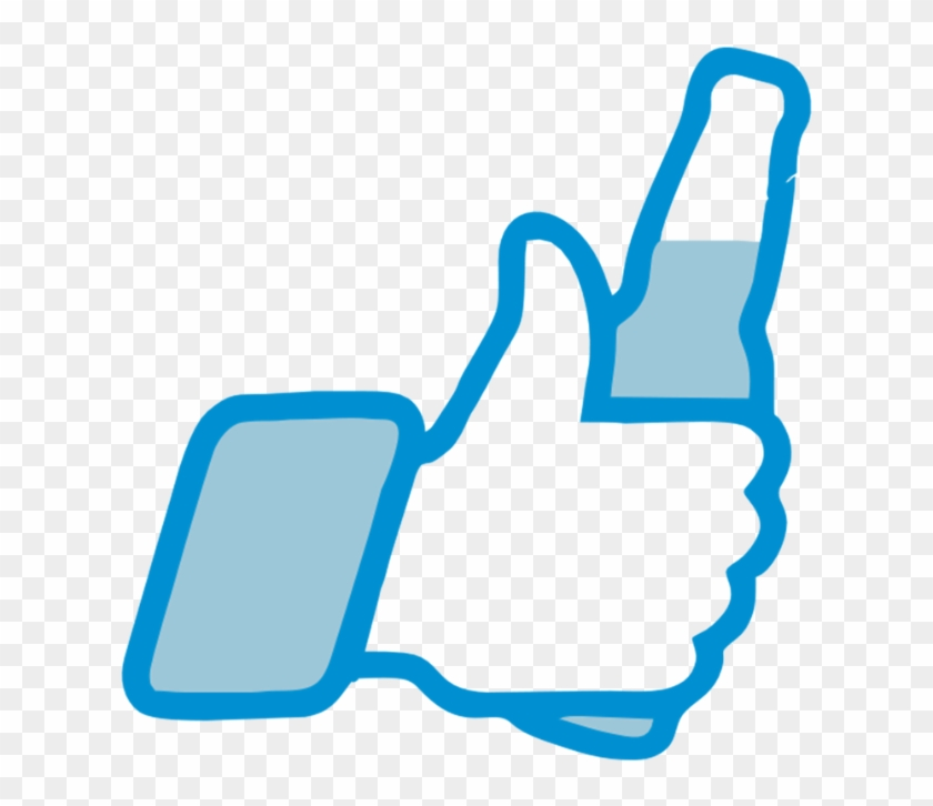 Vector Design Caps - Facebook Thumbs Up Funny Clipart #956451