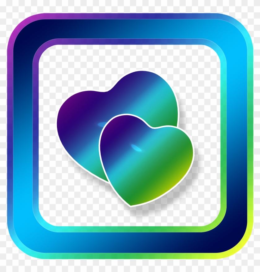 Icon Heart Love - Heart Clipart #957487