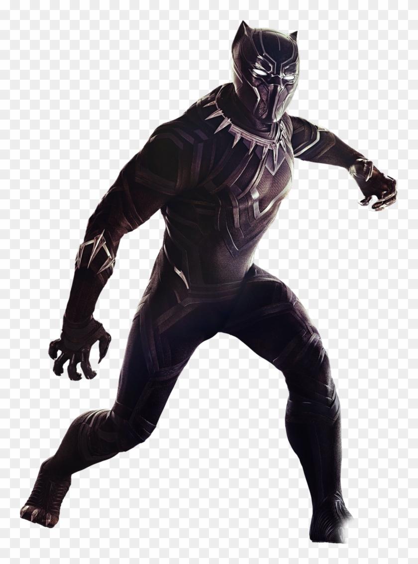 Png Pantera Negra Black Panther No Background Transparent
