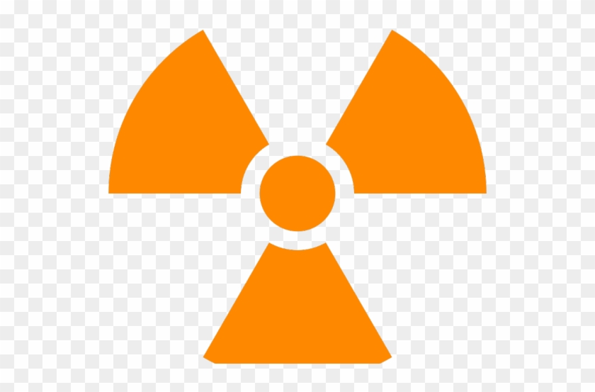 Biohazard Symbol Clipart Radioactive - Radiation Symbol No Background - Png Download #961712