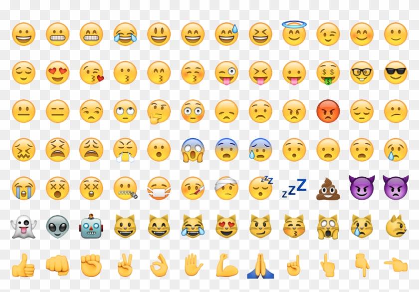 Emoji Whatsapp Png - All Emojis Png Clipart@pikpng.com