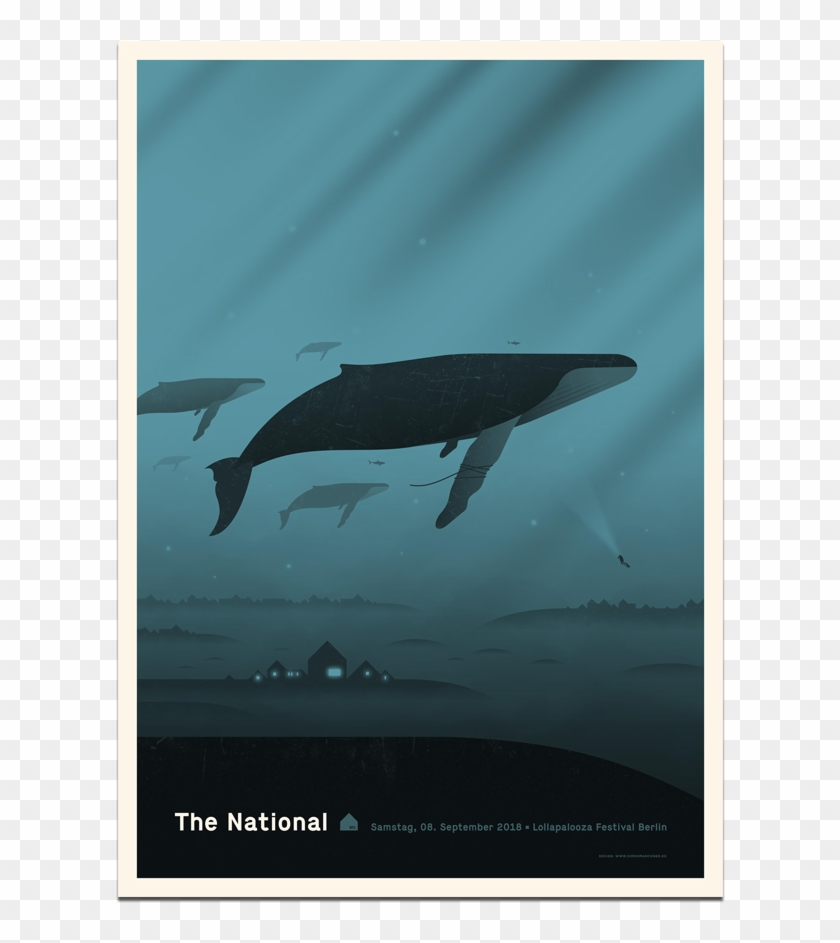 The Nationalberlin Lollapalooza Poster September 8, - National Poster Clipart #968133