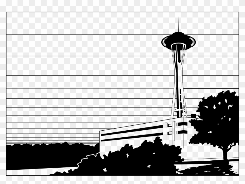 This Free Icons Png Design Of Space Needle Wa Clipart #970047
