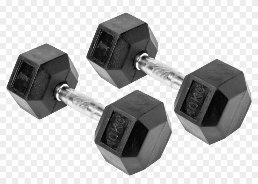 Dumbbell Hd Png Pluspng - Dumbbells Png Clipart #970492