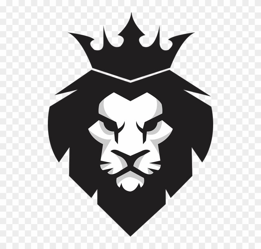 Lion, King, Icon, Logo, Animal, Pride, Wild, Head, - Leão Icone Clipart #975159