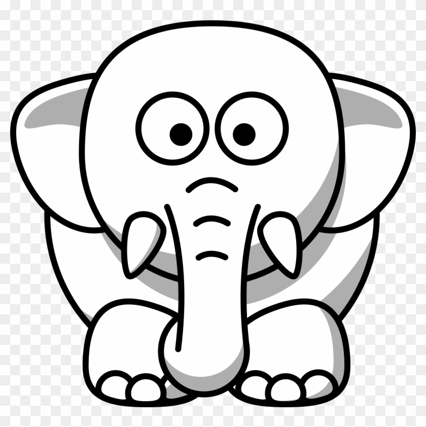Net Clipart Black And White Elephant Copy Black White Clip Art Animal Black And White Png Download 975693 Pikpng Elephants are large mammals of the family elephantidae and the order proboscidea. net clipart black and white elephant