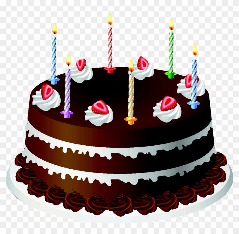 Cake Png Transparent Transparent Background - Happy Birthday Cake Png Clipart #976815