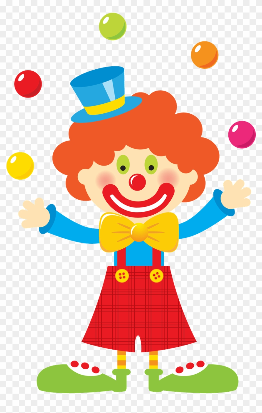 Pin By Crafty Annabelle On Circus Printables - Circus Clown Clip Art - Png Download #977601