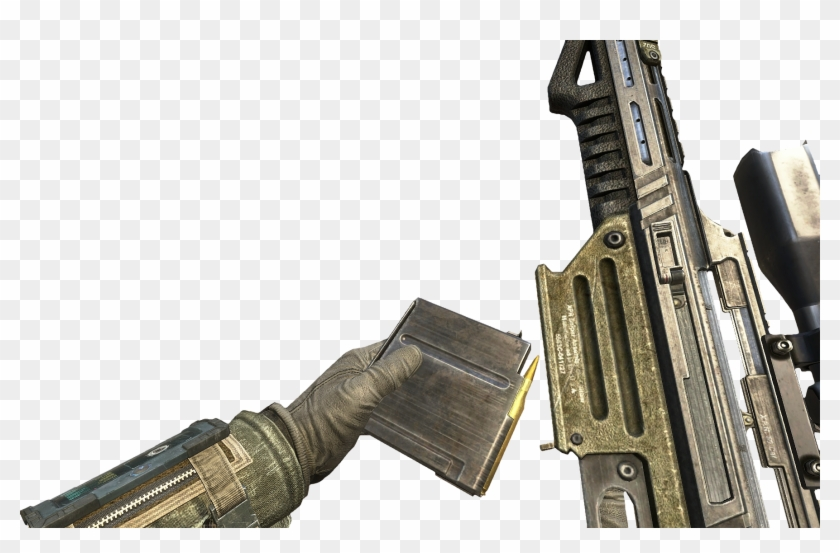 Black Ops 2 Sniper Png - Black Ops 2 Ballista Reloading Clipart #981440