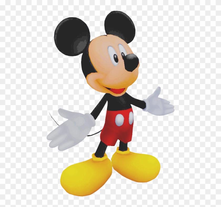 Kingdom Hearts Clipart King Mickey - Kingdom Hearts 1 Mickey - Png Download #982982