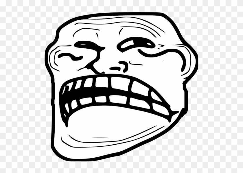 Troll Face Png - Sad Troll Face Gif Clipart