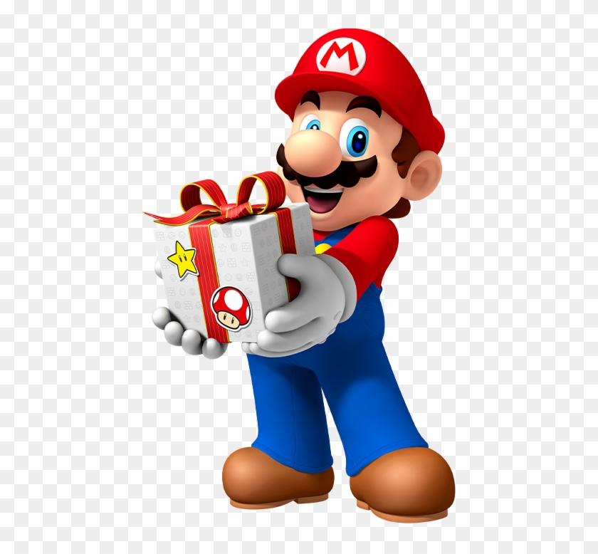 Mario Transparent Christmas Mario Hd Png Download