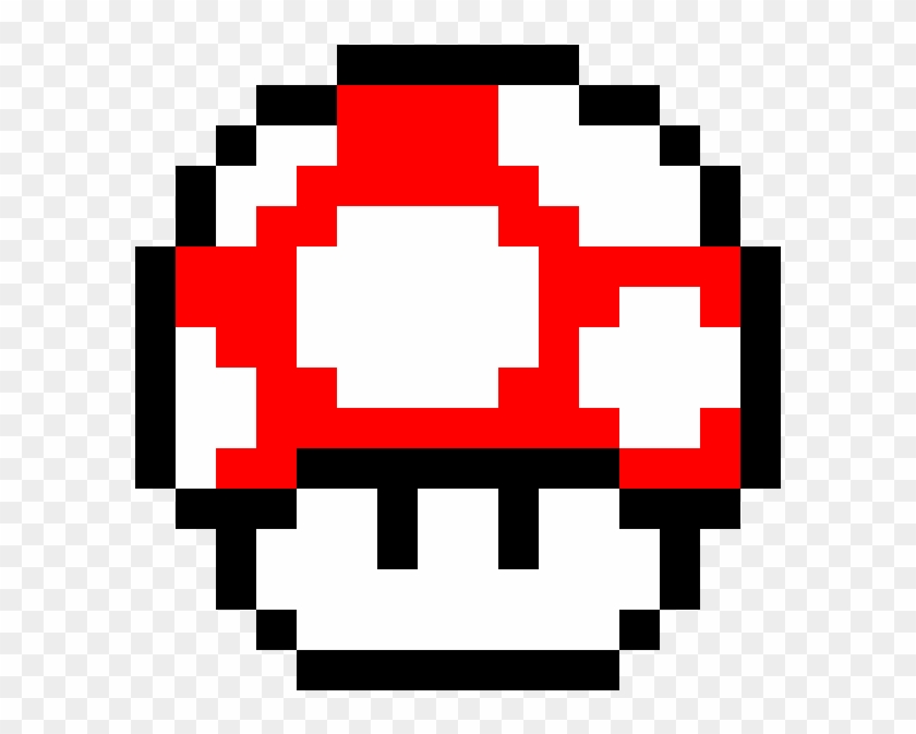 Super Mario Bros Red Mushroom Super Mario Toad Pixel Art Clipart 984006 Pikpng