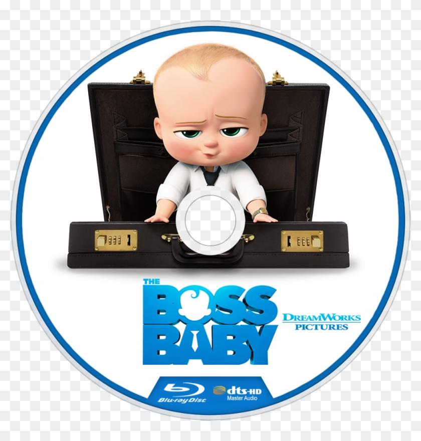 The Boss Baby Bluray Disc Image Boss Baby Blu Ray Clipart