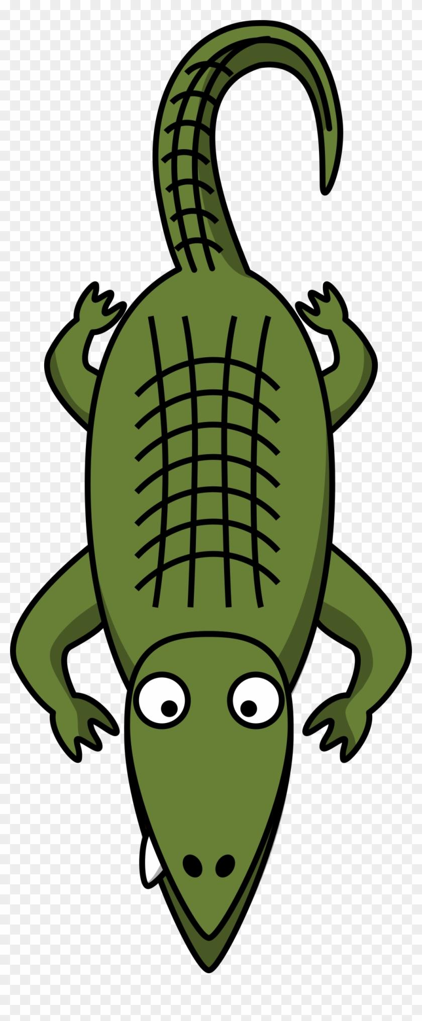 Banner Library Library Alligator Clipart - Alligator Clip Art - Png Download #985861