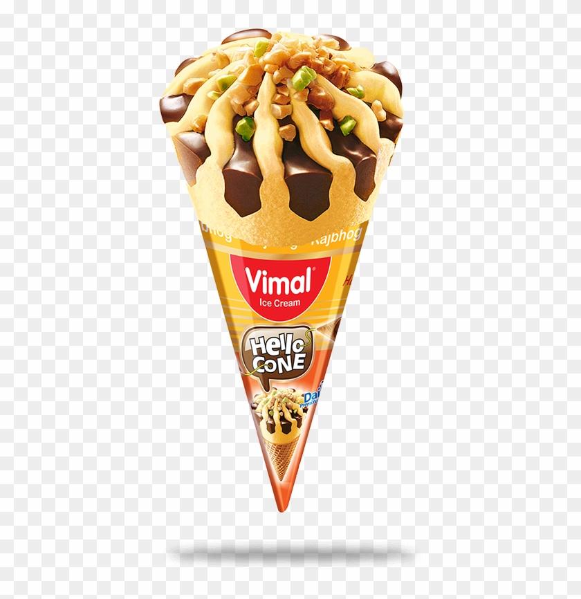 Rajbhog Ice Cream Cone Clipart #988449