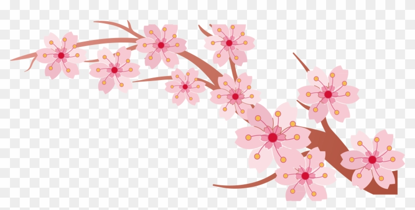 2925 X 2365 17 0 - Tree Clipart Cherry Blossom Banner - Png Download #989450