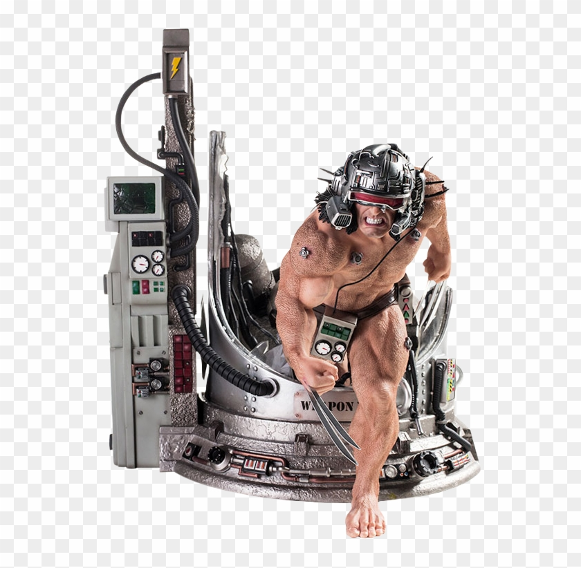 Weapon X Wolverine 1/4 Scale Diorama Statue - Iron Studios Weapon X Clipart #989961