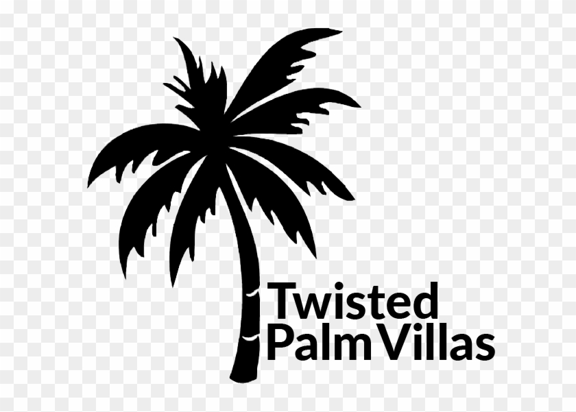 We Buy Sea Side And Start Drawing Twisted Palm Villas - Palm Trees Clipart #990343