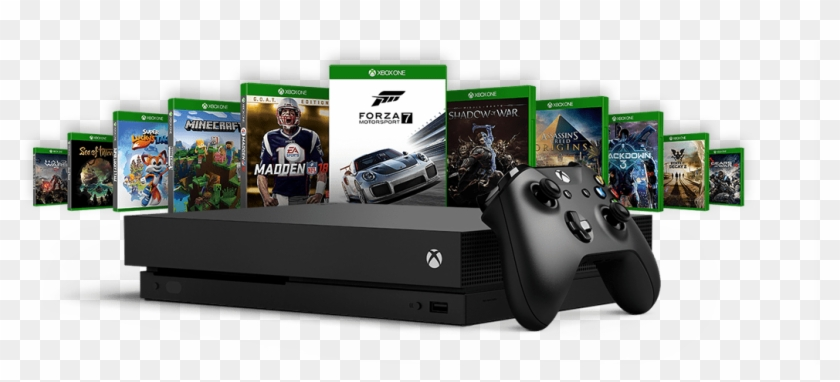 1200 X 421 11 - Xbox One X Png No Background Clipart #991056