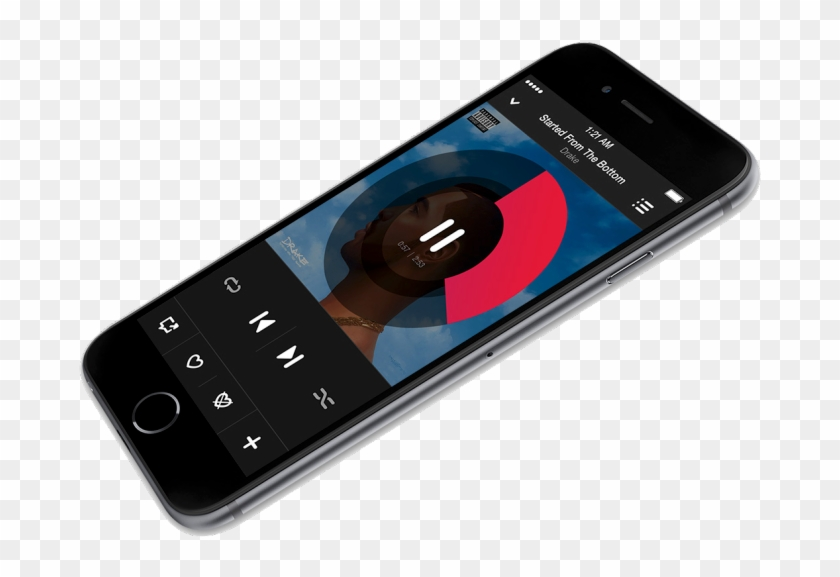 Iphone 6 Beats Music - Apple Music Iphone Png Clipart #993140