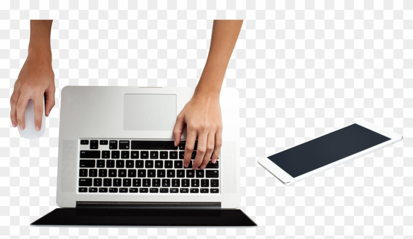 Laptop Free Commercial Use Png Image Hand Using Laptop Png Clipart 995178 Pikpng
