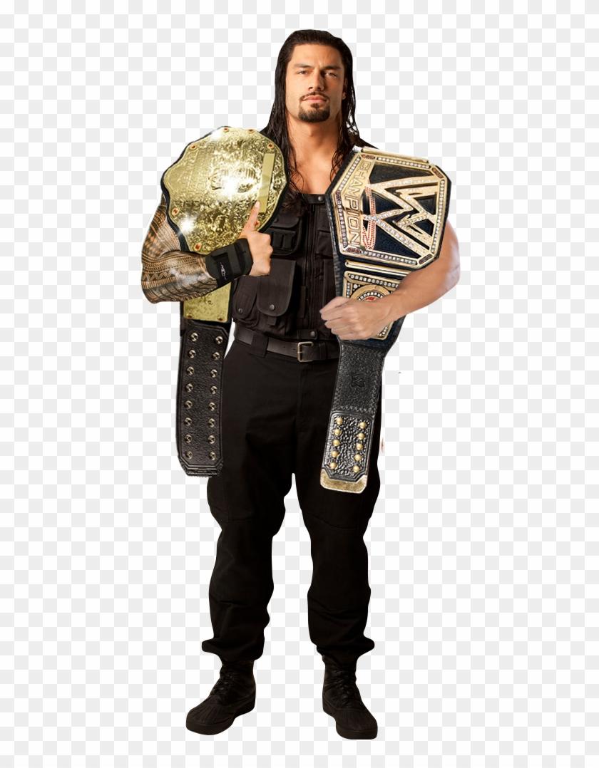 Wwe World Heavyweight Champion Roman Reigns - Roman Reigns Full Size Clipart #995447