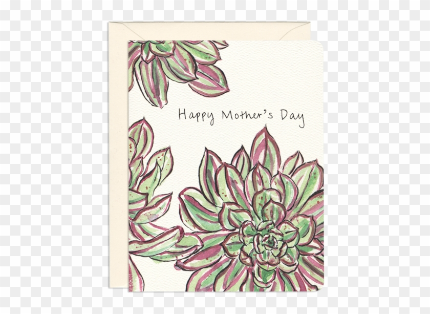 Mother's Day Plant Greeting Card - Protea Clipart #998861
